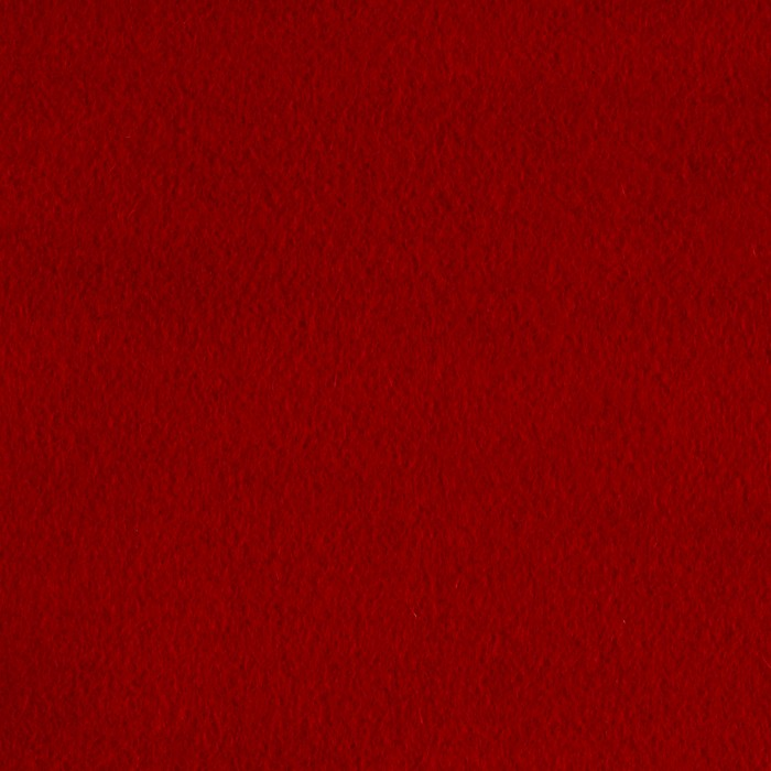 Luxury Wool Cashmere Melton Bright Red