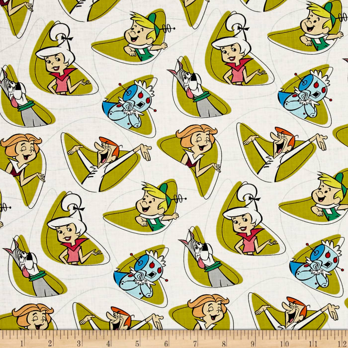 The Jetsons Characters Shapes White