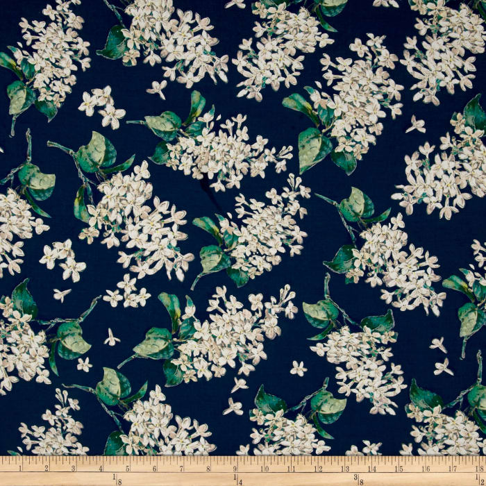 Liberty Fabrics Archive Lilac Lawn Teal