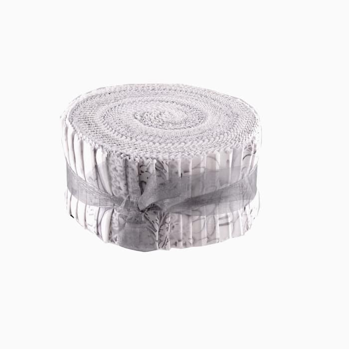 """Kanvas White Out 2.5"""" Jelly Roll"""