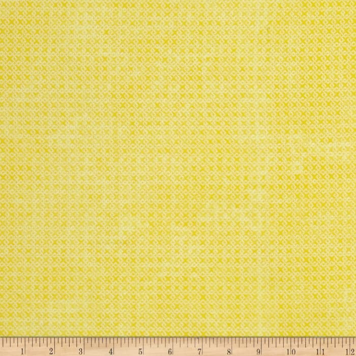 """Essential Criss Cross 60"""" Flannel Yellow"""