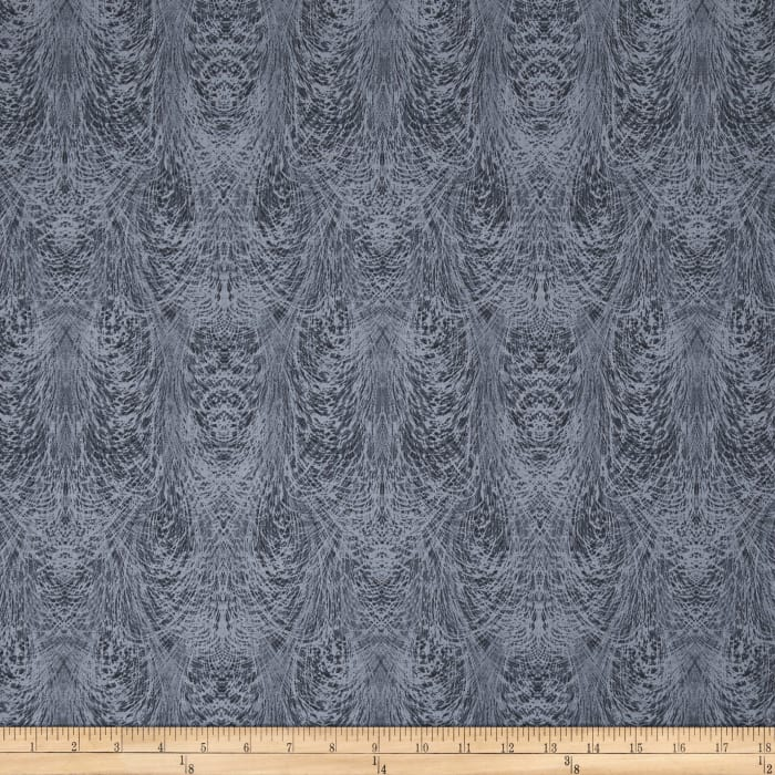Chalk Effects Feathers Grey