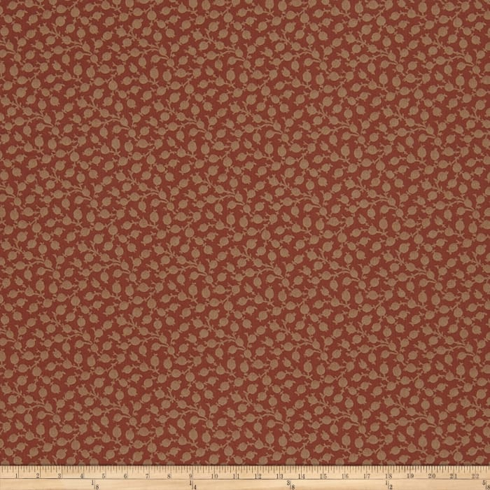 French General Adelaide Jacquard Rural Red