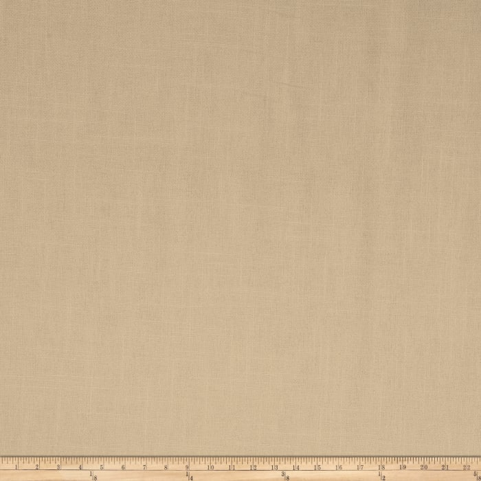 French General Cassis Basketweave Linen Bisque