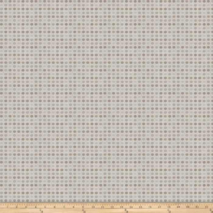 Trend 03156 Textured Jacquard Dots Silver