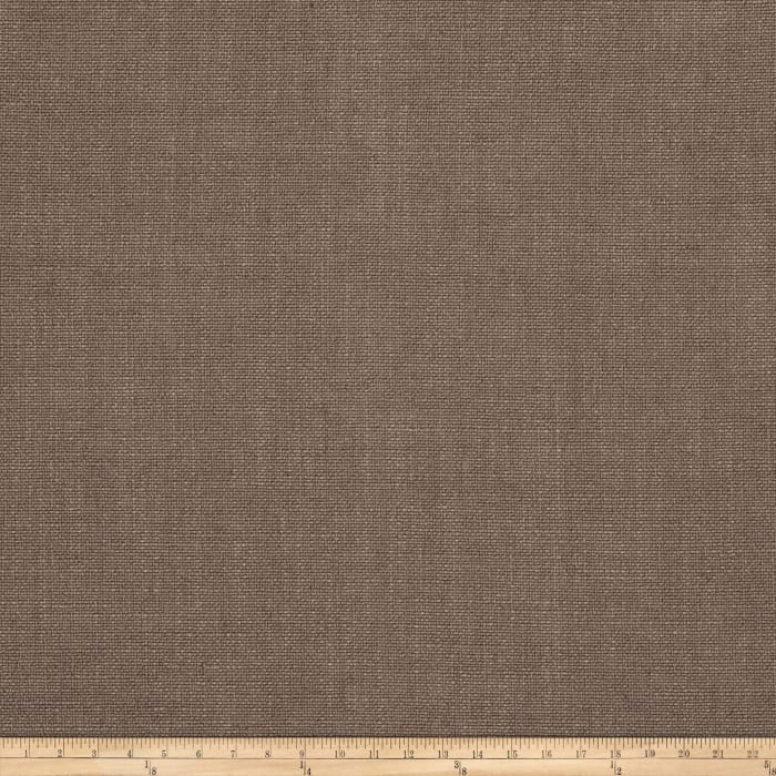Vern Yip 03351 Linen Blend Solid Taupe