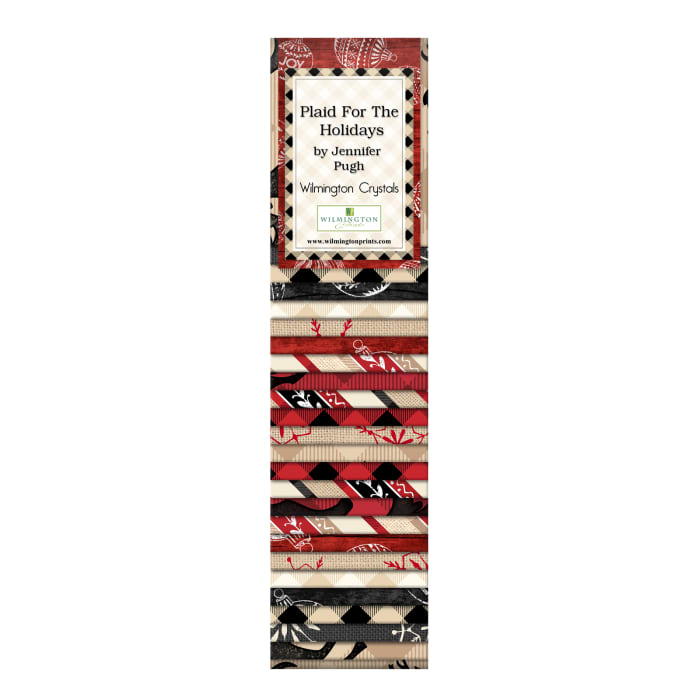 """Wilmington Crystals Plaid for the Holidays, Crystals-2 1/2"""""""