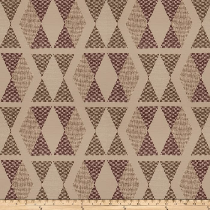 Fabricut Attari Burgundy