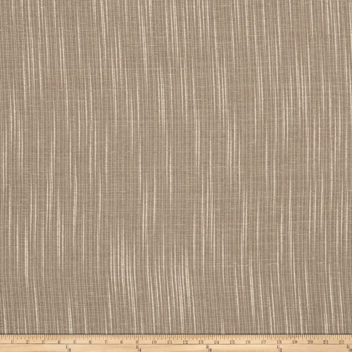 "Fabricut Breton 118"" Sheer Quarry"
