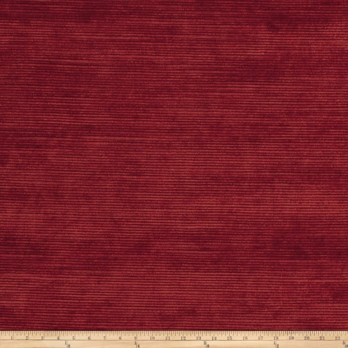 Fabricut Highlight Velvet Cherry