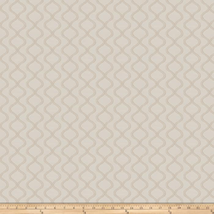Fabricut Hills And Valleys Jacquard Pearl