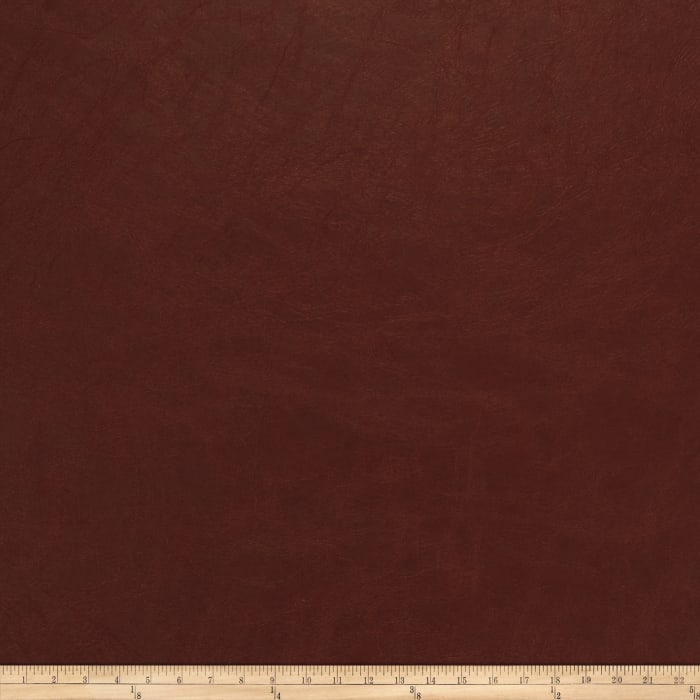 Fabricut Overlook Faux Leather Red