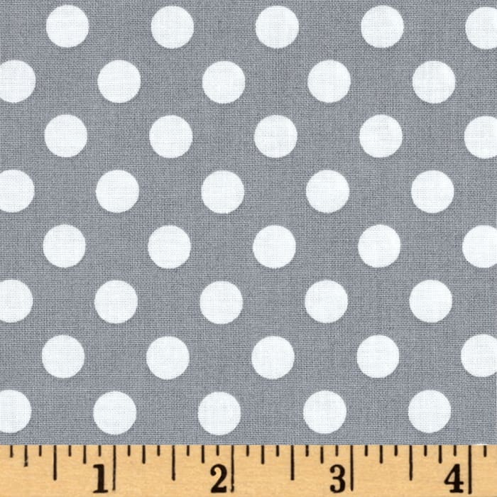 Maywood Studio Kimberbell Basics Dots Gray