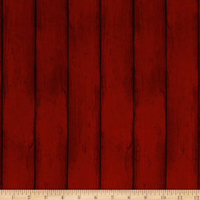Colors of Fall Wood Red