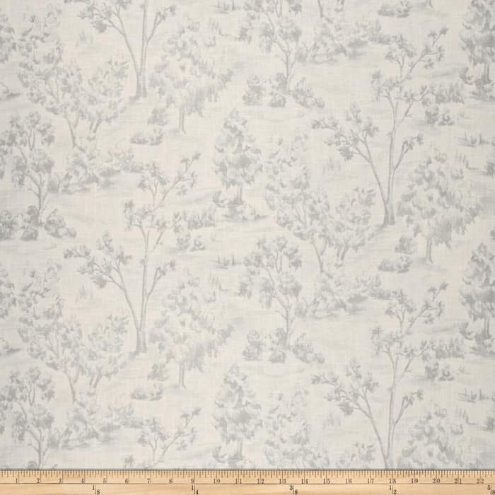 French General Arbe Toile Linen Blend Chambray