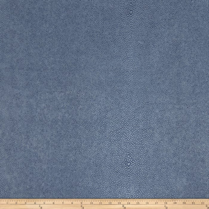 Fabricut Canberra Faux Leather Indigo