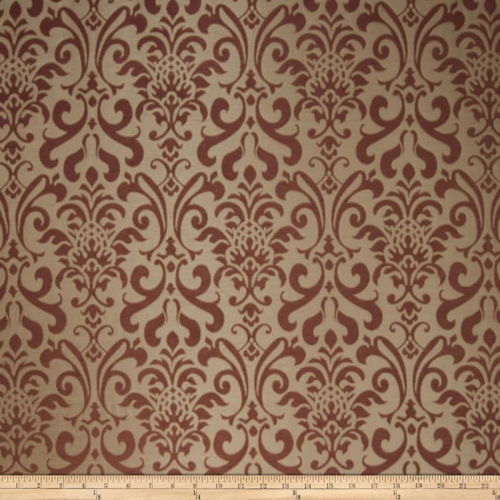 Fabricut Fresca Faux Silk Raisin