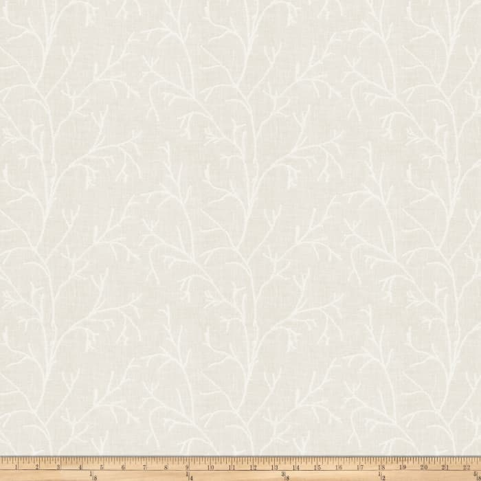 Fabricut Horner Branch Linen Blend Cloud