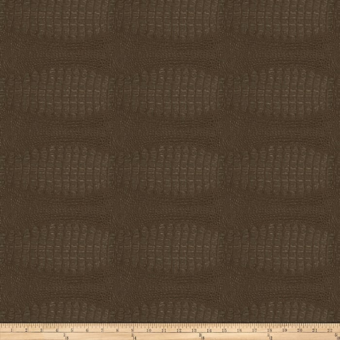 Fabricut Osmium Faux Leather Chestnut