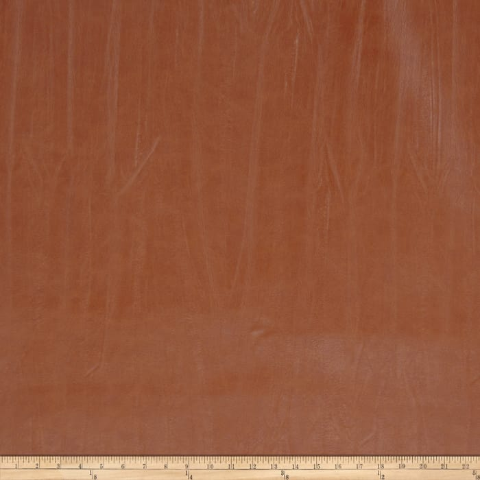 Fabricut Outback Faux Leather Molasses
