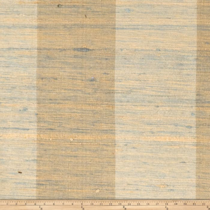Fabricut Shalini Stripe Silk Palm