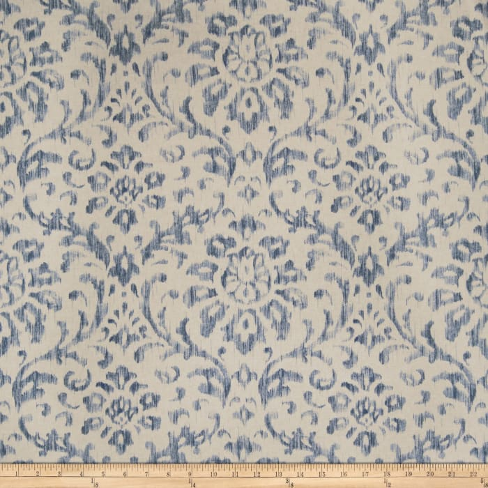 Fabricut Watercress Linen Blend Navy