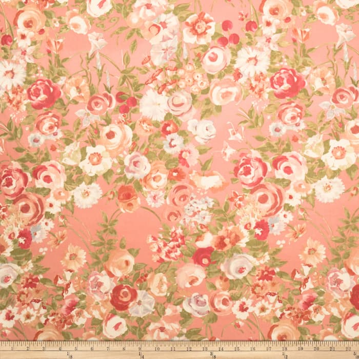 Collier Campbell Woodland Rose Coral Garden