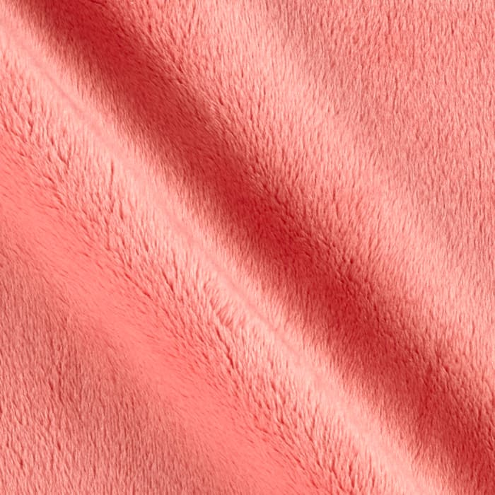 Michael Miller Minky Sarah Jane Magic Solid Minky Coral