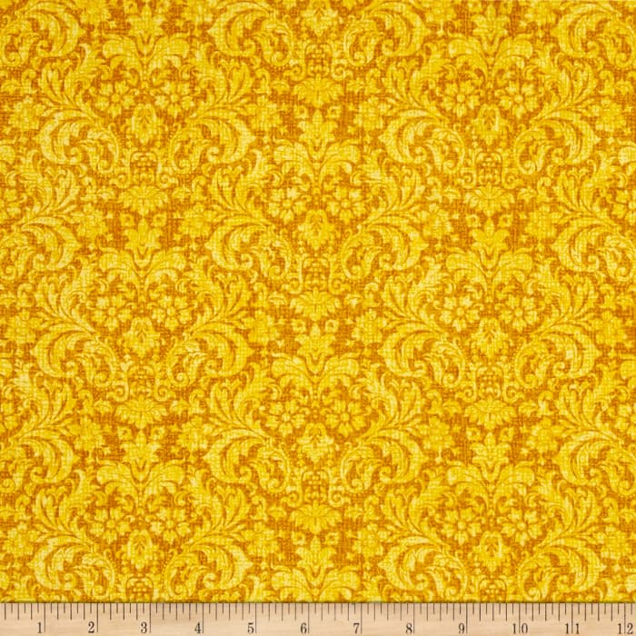 Let it Be Damask Yellow