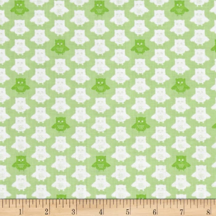 Contempo Owls And Pals Owls Green