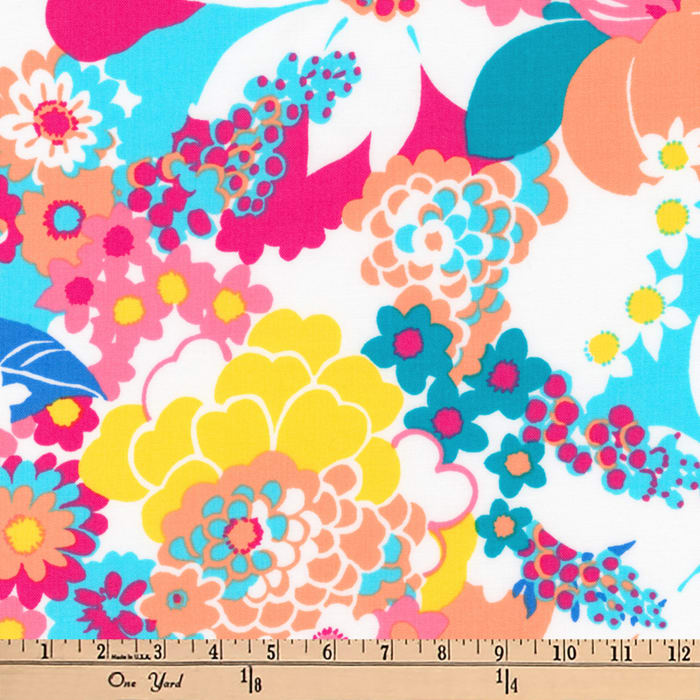 Kaufman Laurel Canyon Geo Floral Bright