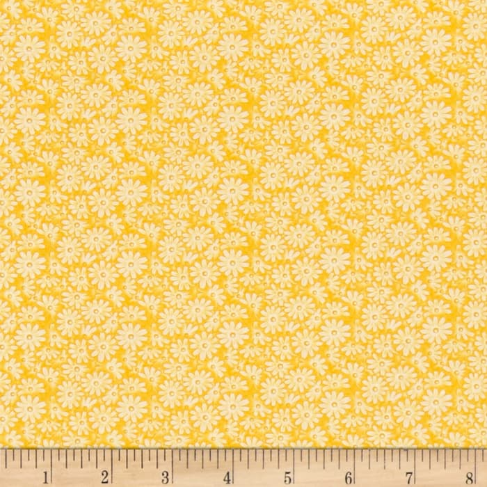 Moda 30's Playtime 2017 Posy Patch Buttercup