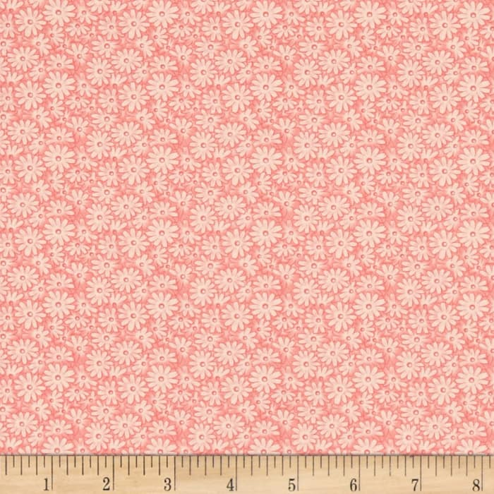 Moda 30's Playtime 2017 Posy Patch Pink