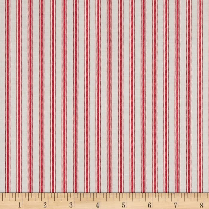 Country Days Stripe Red