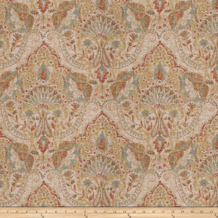 Fabricut China Folly Jacquard Cardinal