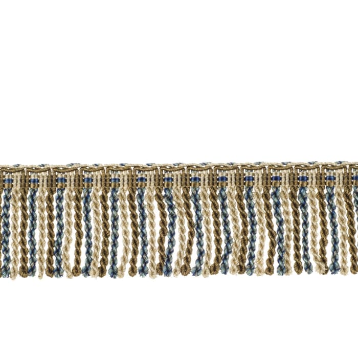"Fabricut 2.5"" Porch Swing Bullion Fringe Capri"