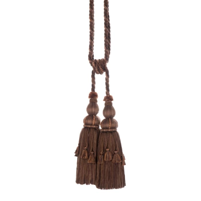 "Trend 30"" 01466 Double Tassel Tieback Fudge"