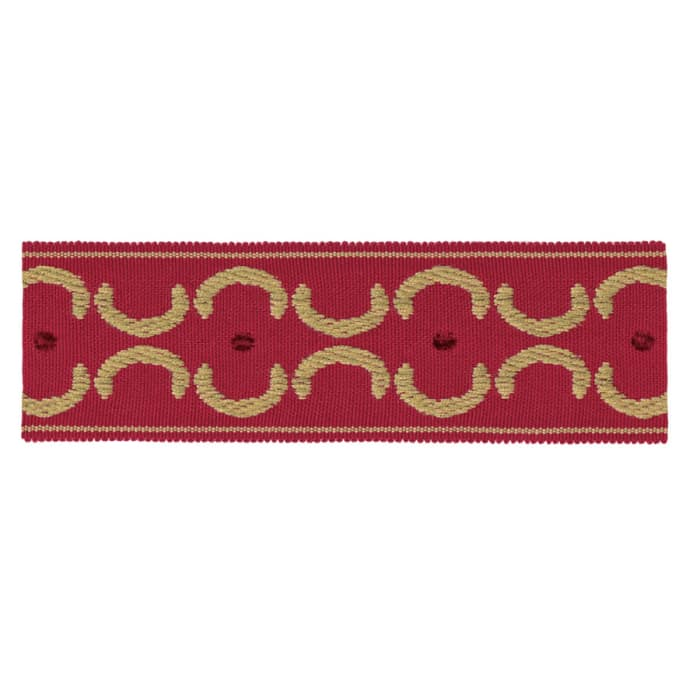 """Jaclyn Smith 1.75"""" 01872 Trim Red"""