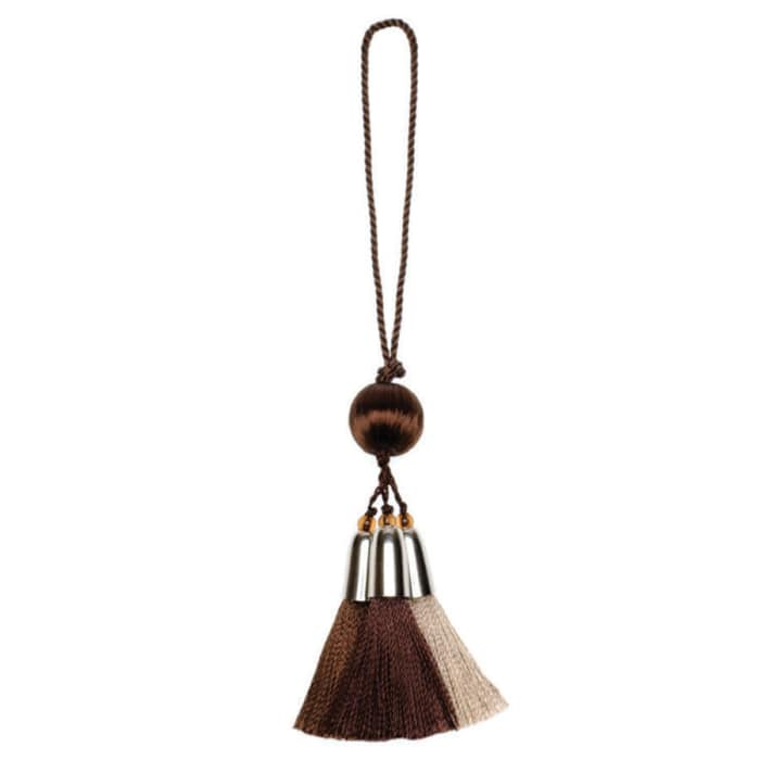 Trend 02079 Cushion Tassel Coffee