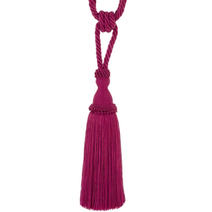 "Trend 29"" 02871 Single Tassel Tieback Fuchsia"