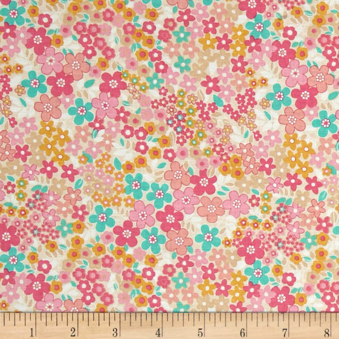 Riley Blake Forget-me-not Fields Pink