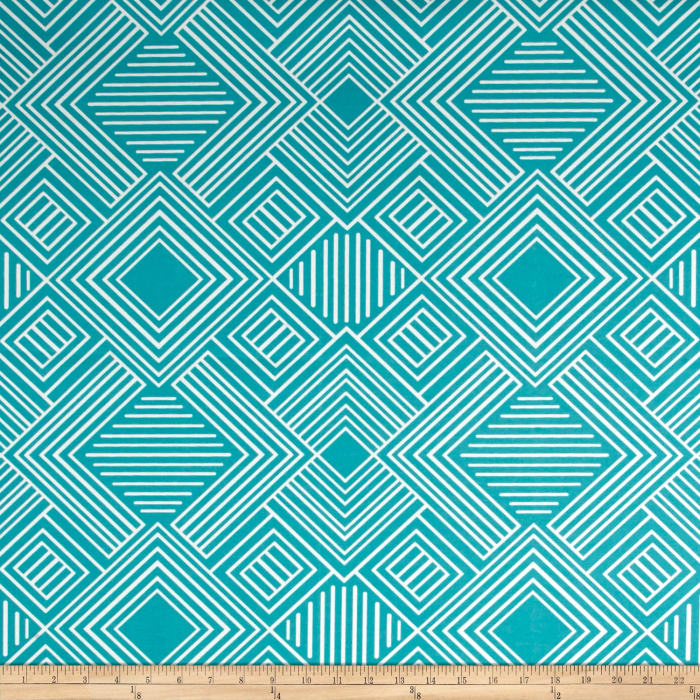 Premier Prints Indoor/Outdoor Phase Ocean