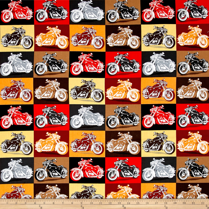 Biker For Life Motorcycle Patches Multi