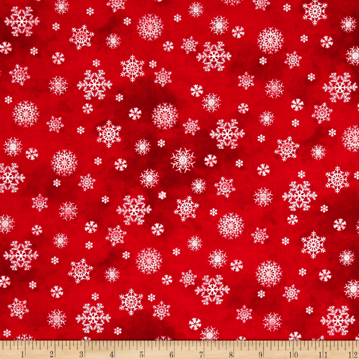 Winter's Friends Snowflake Red