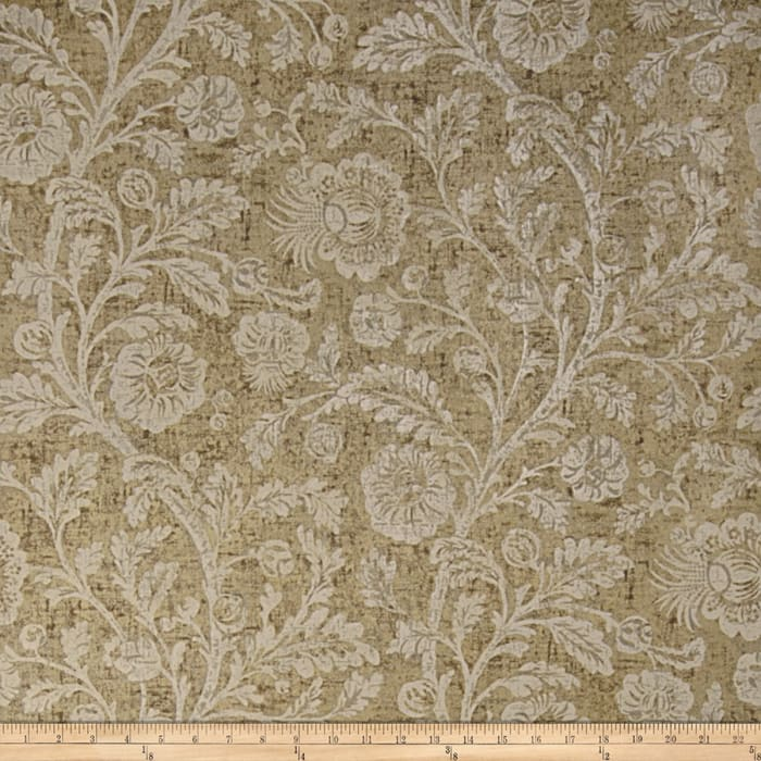 Fabricut Bella Wallpaper Pewter (Double Roll)