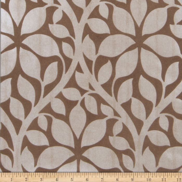 Fabricut 75017w Roslyn Wallpaper Chestnut 05 (Double Roll)