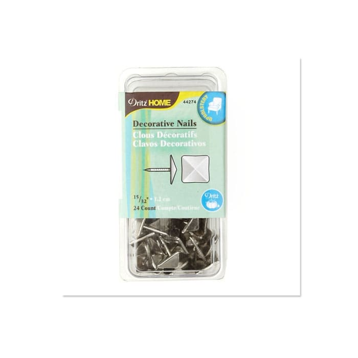 """Upholstery Decorative Nails 15/32"""" Silver"""