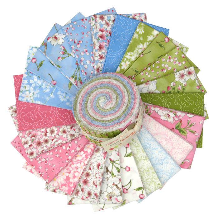 "Moda Sakura Park 2.5"" Jelly Roll"