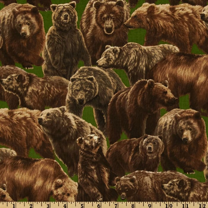 Living Wonders Bears Green/Brown