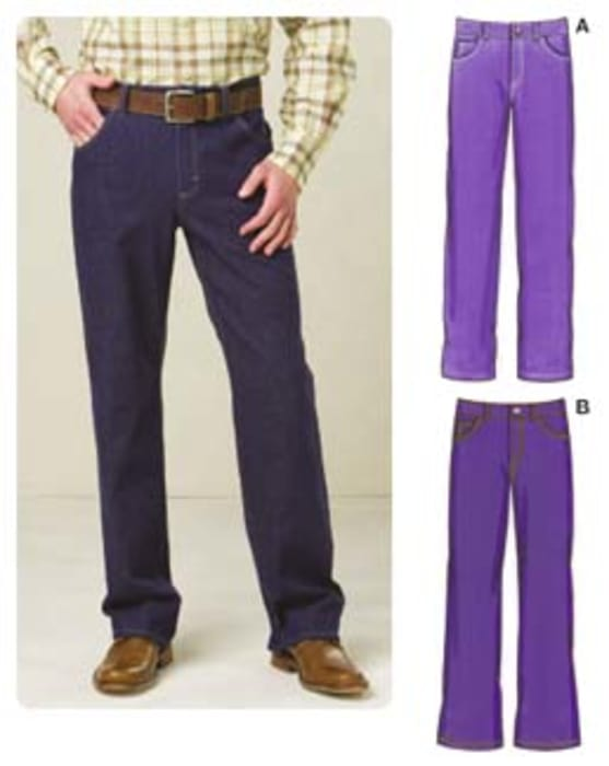 Kwik Sew Men's Jeans Pattern
